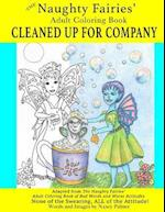 The Naughty Fairies' Adult Coloring Book Cleaned Up for Company