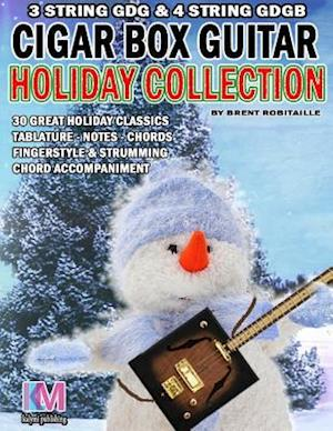 Bog, paperback Cigar Box Guitar - Holiday Collection af Brent C. Robitaille