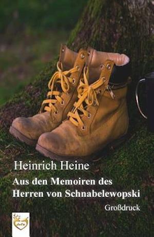 Bog, paperback Aus Den Memoiren Des Herren Von Schnabelewopski (Grossdruck) af Heinrich Heine