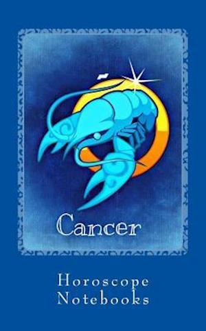 Bog, paperback Cancer af Horoscope Blank Notebooks