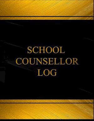 Bog, paperback School Counsellor Log (Log Book, Journal - 125 Pgs, 8.5 X 11 Inches) af Centurion Logbooks