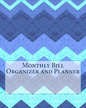 Bog, paperback Monthly Bill Organizer and Planner af Centurion Organisers And Planners