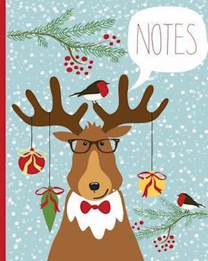 Bog, paperback Christmas Notebook, Lined Journal/Notes Christmas, Holiday Notebook af N. Brown