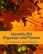 Monthly Bill Organizer and Planner af Centurion Organisers And Planners