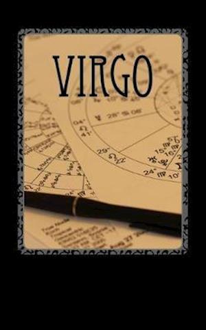 Bog, paperback Virgo af Horoscope Blank Notebook