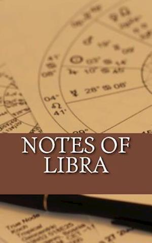 Bog, paperback Notes of Libra af Horoscope Blank Notebooks