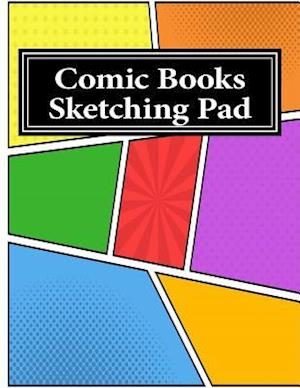 Bog, paperback Comic Books Sketching Pad af One Jacked Monkey Publications
