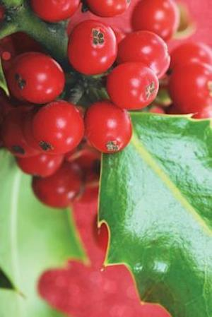 Bog, paperback Yuletide Holly Berries Journal af Cool Image