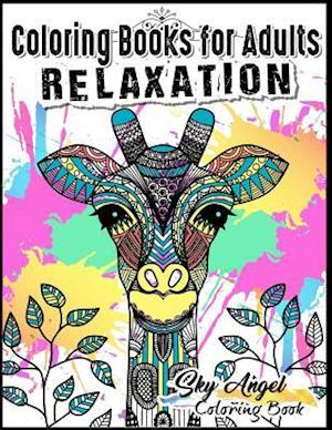 Bog, paperback Coloring Books for Adults Relaxation af Coloring Books For Adults Relaxation, Sky Angel Coloring Book