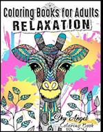 Coloring Books for Adults Relaxation af Coloring Books For Adults Relaxation, Sky Angel Coloring Book