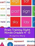 Brain Training Sight Words Grades 4 - 6