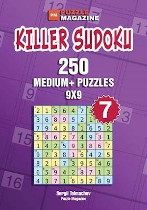 Bog, paperback Killer Sudoku - 250 Medium+ Puzzles 9x9 (Volume 7) af Sergii Tolmachov