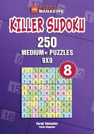 Bog, paperback Killer Sudoku - 250 Medium+ Puzzles 9x9 (Volume 8) af Sergii Tolmachov