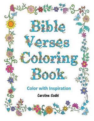 Bible Verses Coloring Book