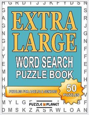 Bog, paperback Extra Large Word Search Puzzle Book af Puzzle Planet