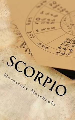 Bog, paperback Scorpio (Journal) af Horoscope Blank Notebooks