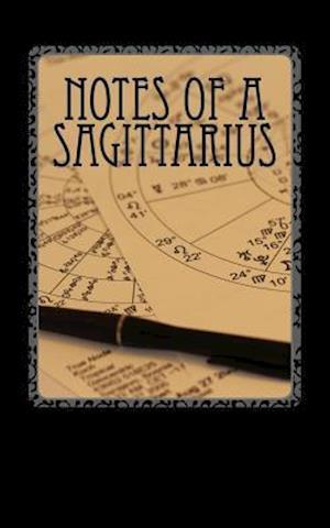 Bog, paperback Notes of a Sagittarius af Horoscope Blank Notebooks