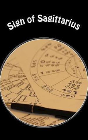 Bog, paperback Sign of Sagittarius af Horoscope Blank Notebooks