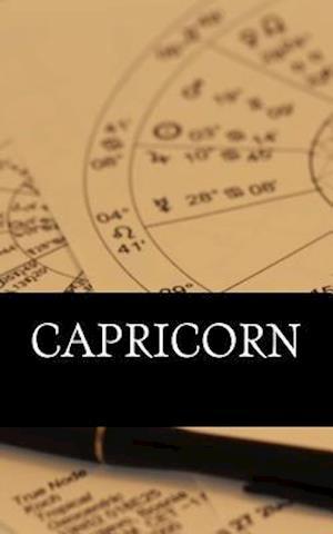 Bog, paperback Capricorn af Horoscope Blank Notebooks