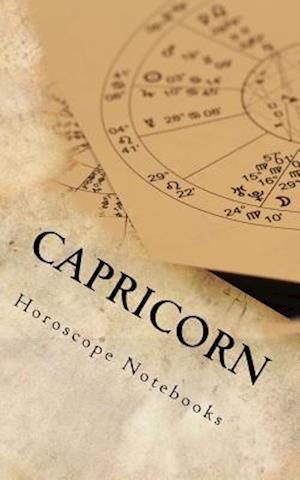 Bog, paperback Capricorn (Journal) af Horoscope Blank Notebooks