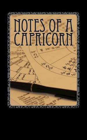Bog, paperback Notes of a Capricorn af Horoscope Blank Notebooks