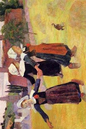 """Breton Girls Dancing"" by Paul Gauguin - 1888"