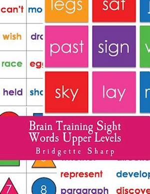 Bog, paperback Brain Training Sight Words Upper Levels af Bridgette Sharp