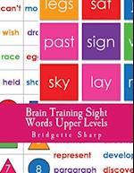 Brain Training Sight Words Upper Levels
