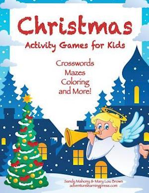 Bog, paperback Christmas Activity Games for Kids af Mary Lou Brown, Sandy Mahony