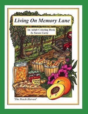 Bog, paperback Living on Memory Lane af Susan Curry