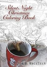 Silent Night Christmas Coloring Book
