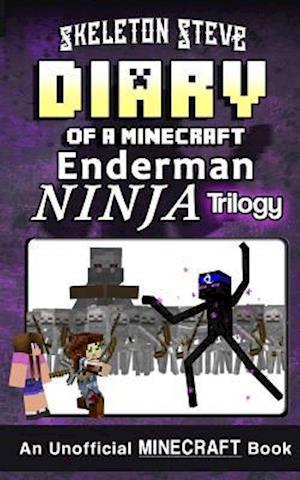 Bog, paperback Diary of a Minecraft Enderman Ninja Trilogy af Skeleton Steve