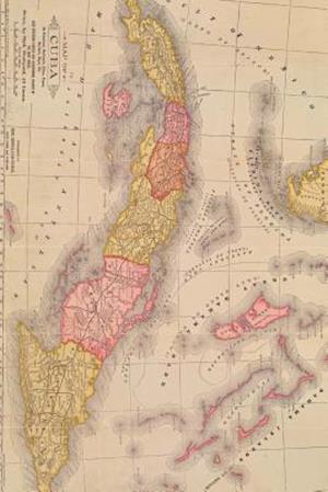 Bog, paperback A Vintage Map of Cuba Its Provinces af Unique Journal