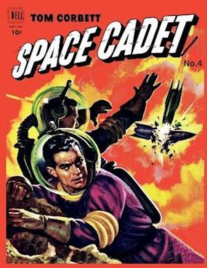 Bog, paperback Tom Corbett Space Cadet # 4 af Dell Comics