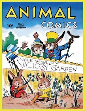 Bog, paperback Animal Comics # 4 af Dell Publishing Company