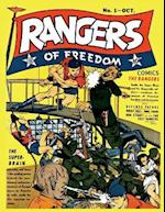Rangers of Freedom Comics #1 af Fiction House