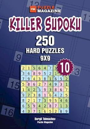Bog, paperback Killer Sudoku - 250 Hard Puzzles 9x9 (Volume 10) af Sergii Tolmachov