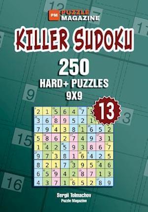 Bog, paperback Killer Sudoku - 250 Hard+ Puzzles 9x9 (Volume 13) af Sergii Tolmachov
