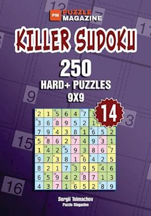 Killer Sudoku - 250 Hard+ Puzzles 9x9 (Volume 14)