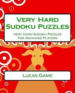 Bog, paperback Very Hard Sudoku Puzzles af Lucas Game