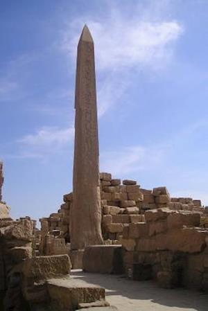 Bog, paperback Obelisk at Karnak Temple in Luxor Egypt Journal af Cool Image