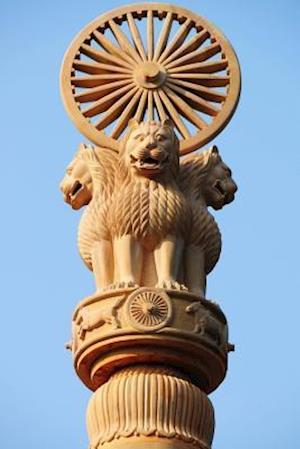 Bog, paperback Pillars of Ashoka Wheel of Dharma Over Four Lion Heads in Thailand Journal af Cool Image