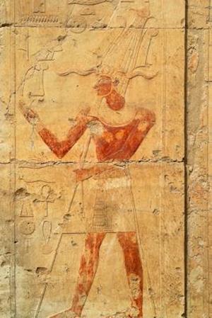 Bog, paperback Queen Hatshepsut Bas Relief in Deir El-Bahri Luxor Egypt Journal af Cool Image