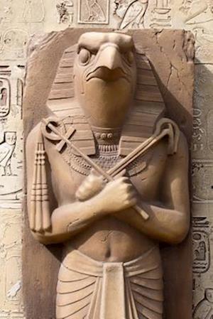 Bog, paperback Statue of Ra the Egyptian Sun God in Egypt Journal af Cool Image