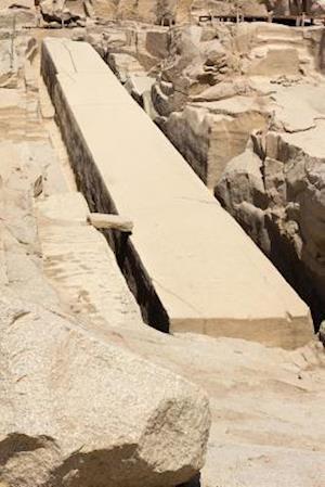 Bog, paperback The Unfinished Obelisk in Quarry at Aswan Egypt Journal af Cool Image