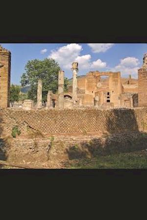 Bog, paperback Villa Adriana Aka Hadrian's Villa Tivoli Italy Journal af Cool Image