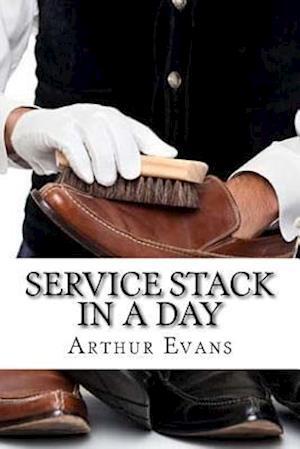 Bog, paperback Service Stack in a Day af Arthur Evans