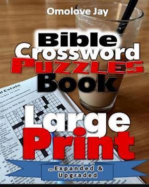 Bog, paperback Bible Crossword Puzzle Book Large Print af Omolove Jay