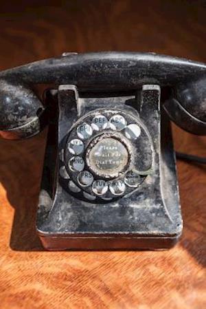Bog, paperback Vintage Rotary Phone Flea Market Find Journal af Cs Creations