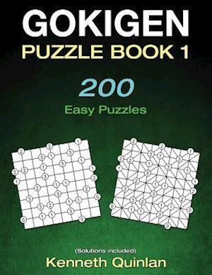 Bog, paperback Gokigen Puzzle Book 1 af Kenneth Quinlan